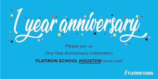 Flatiron School One Year Anniversary: Open House | Houston