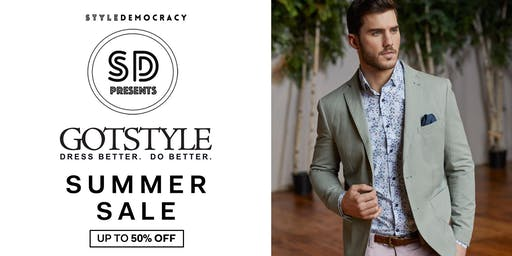 StyleDemocracy presents: The Gotstyle Summer Sale