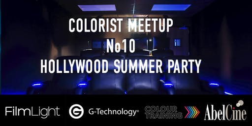 LA Colorist Meetup No10 'Summer Party' with Filmlight