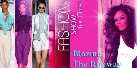 Blazing The Runway Fashion Show tickets