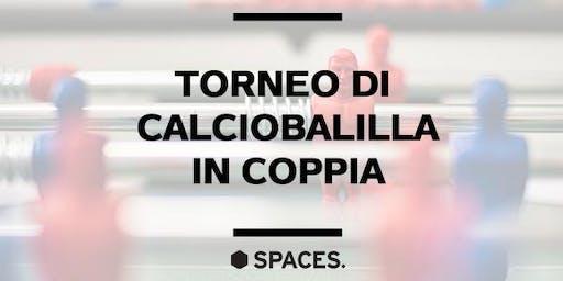 TORNEO DI CALCIOBALILLA IN COPPIA