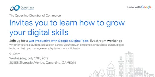 Get Productive with Google's Digital Tools workshop