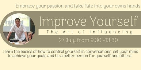 The Art of Influencing: Improve Yourself tickets