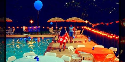 Dawson Creek Mansion Pool Party