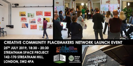 Creative Community Placemakers Network Launch Event tickets