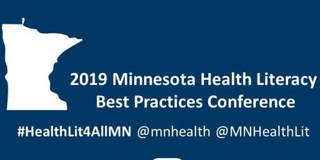 2019 Minnesota Health Literacy Best Practices Conference: Tools for the Health Care Practice tickets