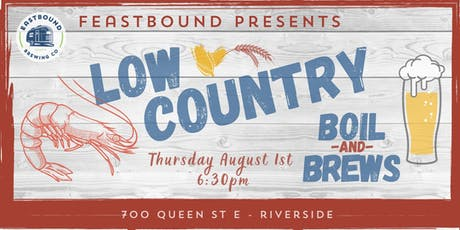 Feastbound Presents: Low Country Boil & Brews tickets