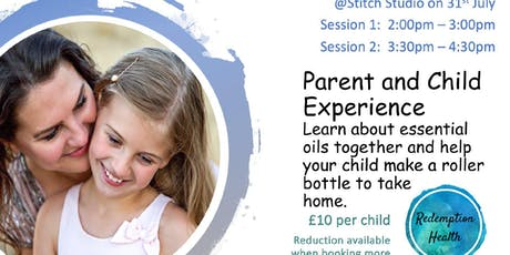 Parent and Child experience: enjoy essential oils together  tickets
