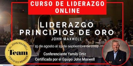CURSO de Liderazgo Online entradas