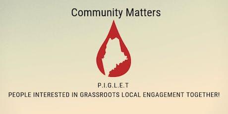 Kennebec & Moose River PIGLET - Community Building / Escape Room / Education - CSL Behring tickets