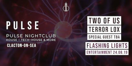 Pulse Presents Flashing Lights  tickets