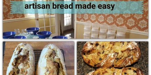 Artisan Bread Made Easy | Rick Adams at Williams Sonoma at Ross Park