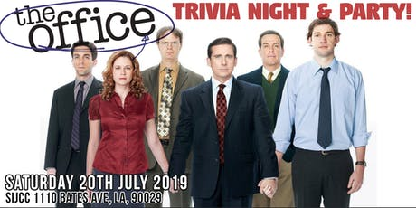 The Office Trivia Night & Party Silverlake tickets