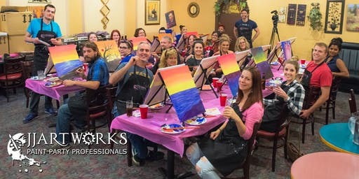 JJArtworks Paint Party: Playoffs Sports Bar & Grill