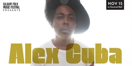 Alex Cuba tickets