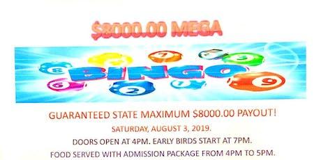 Mega Bingo tickets