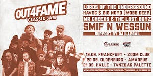 Out4Fame Classic Jam w/ Lords Of The Underground, Mobb...