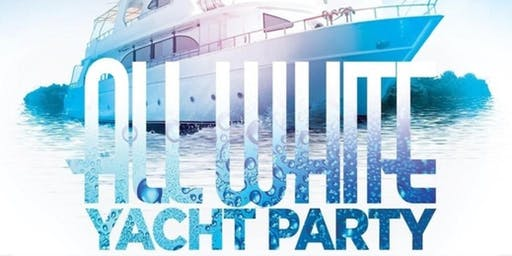 Labor Day All White Yacht Party