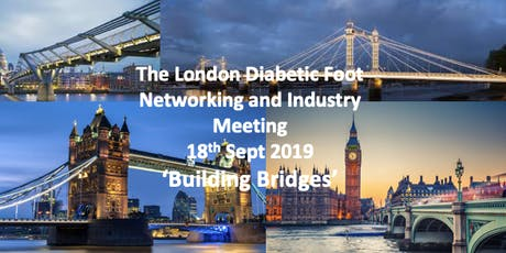 Building Bridges - The London Diabetic Foot Networking and Industry Meeting tickets