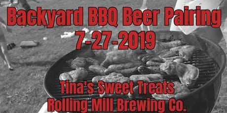 Backyard BBQ Beer Pairing tickets