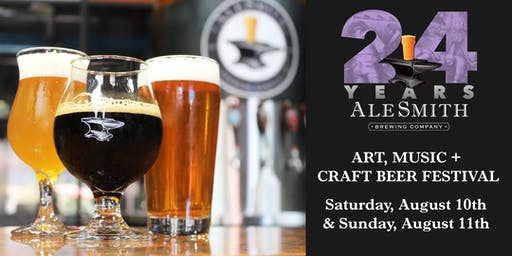 AleSmith Anniversary Art, Music & Craft Beer Festival