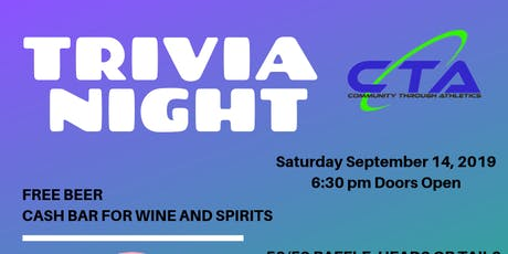 CTA Fall Trivia Night 2019 tickets