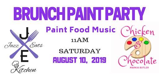 Brunch Paint Party