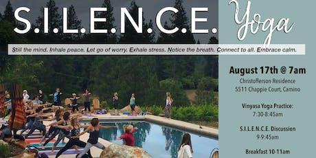 S.I.L.E.N.C.E Yoga Retreat tickets