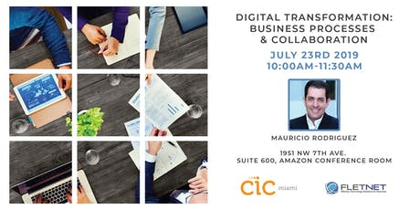 Digital Transformation: Business Processes & Collaboration tickets