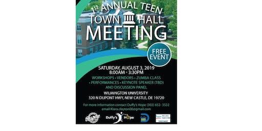 Teen Town Hall Meeting