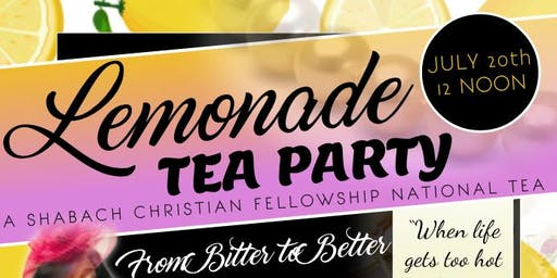 Tea & Lemonade Party