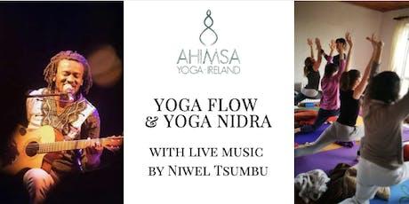 Yoga Flow & Yoga Nidra with live music by Niwel Tsumbu tickets
