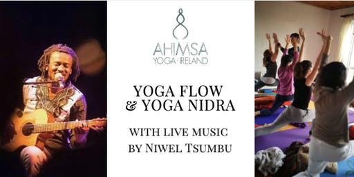 Yoga Flow & Yoga Nidra with live music by Niwel Tsumbu