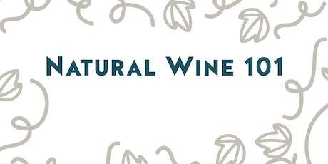 Wine Class: Natural Wine 101 tickets