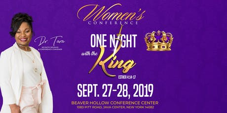 "Women's Conference ""One Night with the King"" tickets"