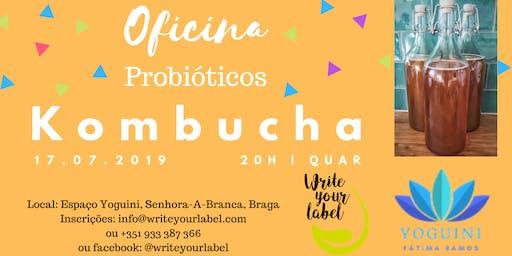 Probiótico Kombucha