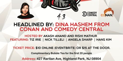 NJ Comedy Show with performers from Conan and Comedy Central
