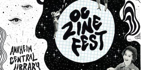OC Zine Fest 2019 at Anaheim Central Library tickets