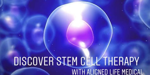 Regenerative Medicine/ Stem Cell FREE Lunch Seminar Old Spaghetti Factory 8/26