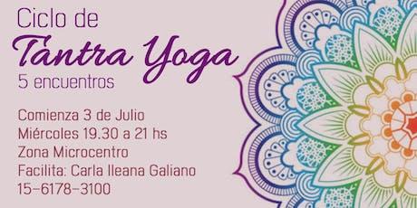 Ciclo de Tantra Yoga entradas