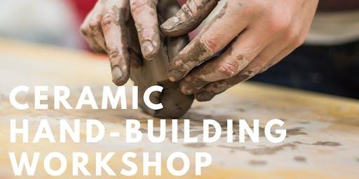 Ceramic Hand-building Beginners Workshop (AU$75)