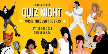 Oranga School Quiz Night tickets