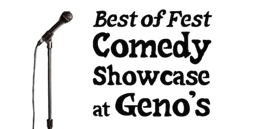 Best of Fest Comedy Showcase at Geno's