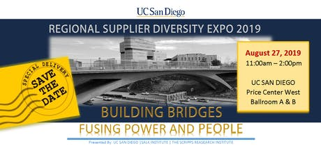 UC San Diego Regional Supplier Diversity Expo 2019 - Attendee Registration tickets