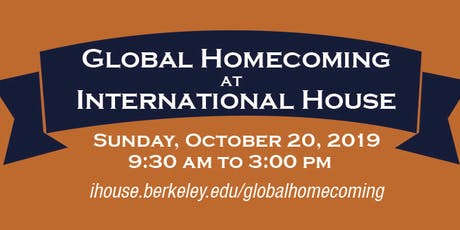 I-House Global Homecoming 2019 tickets
