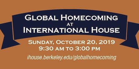 I-House Global Homecoming 2019 tickets