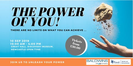 """THE POWER OF YOU"" Personal Development Event, Newcastle Upon Tyne tickets"