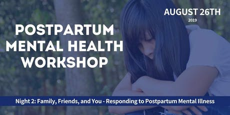 Responding to Postpartum Mental Illness tickets