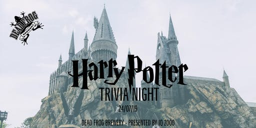 Harry Potter Trivia at Dead Frog Brewery