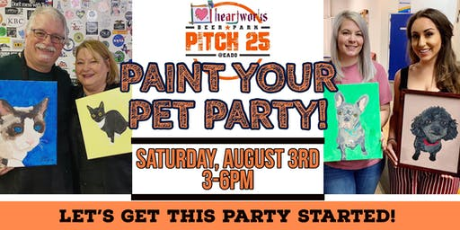 Paint your Pet Party @ Pitch 25 Beer Park!